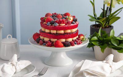 Red Velvet de Frutas Vermelhas